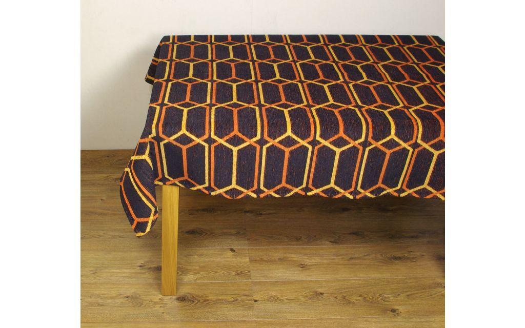 Tafelkleed Chain Oranje