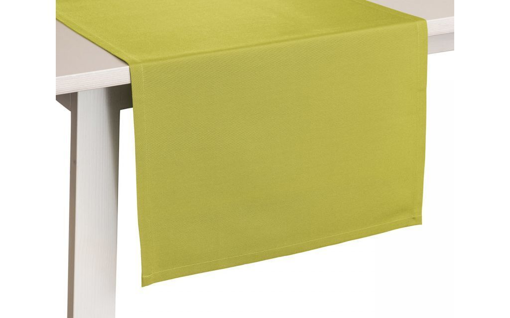 Tafellaken Como Groen-50x150