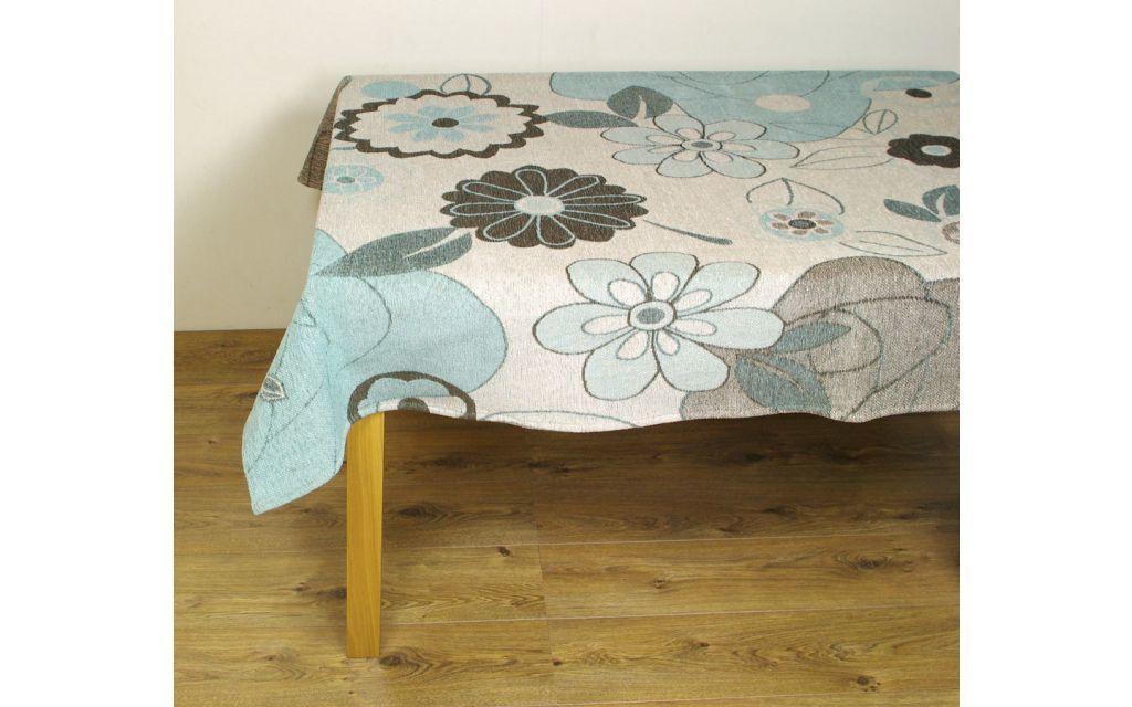 Tafelkleed FlowerPower Blauw