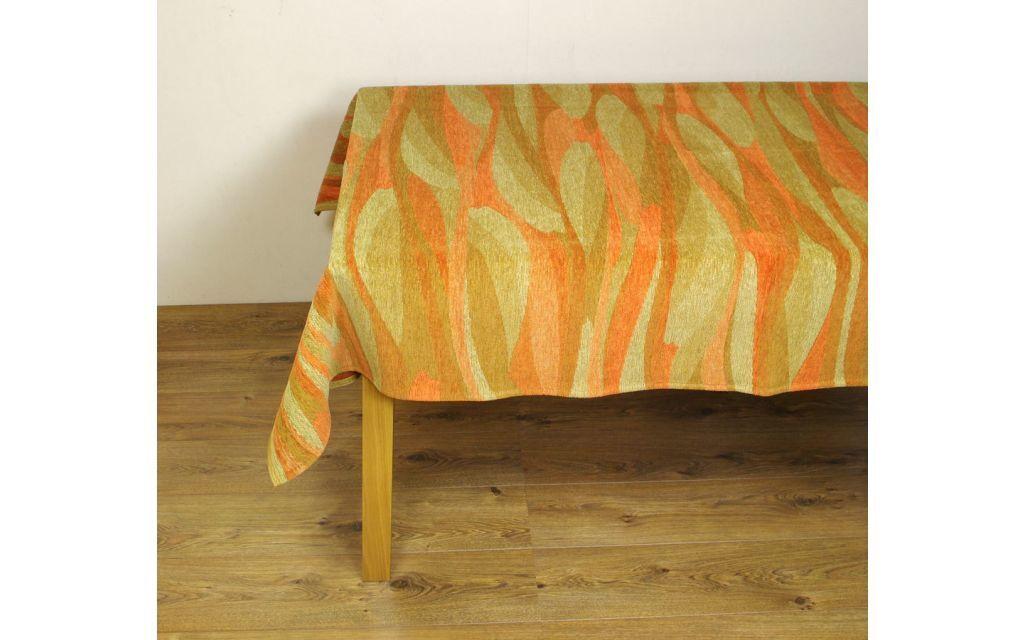 Tafelkleed Smooth Oranje