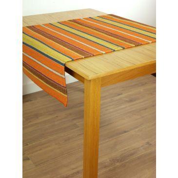 Kelim Stripes Oranje-Goud