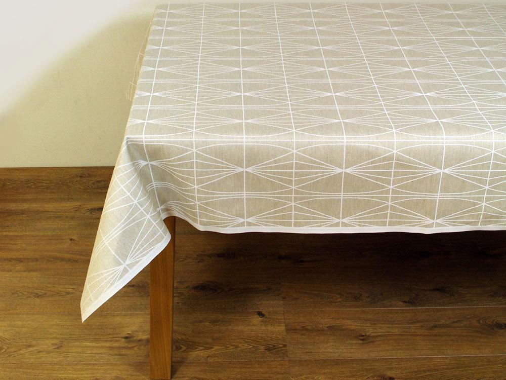 Op deze afbeelding ziet u de tafelkleden collectie Laatu