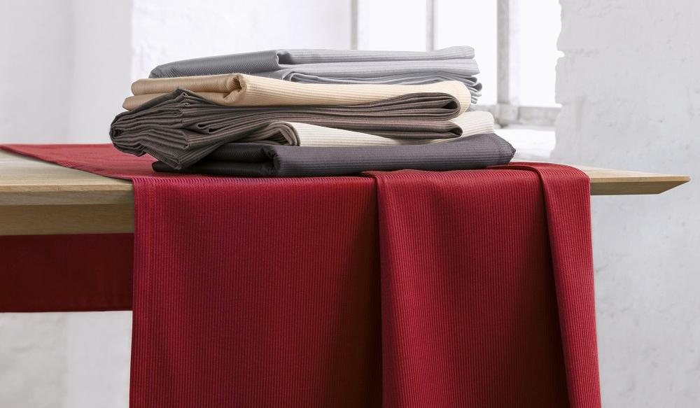 Op deze afbeelding ziet u de tafelkleden collectie Mondo